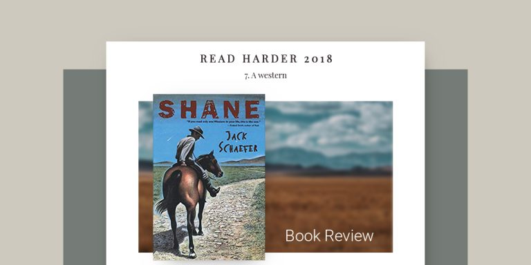 Shane Book Review